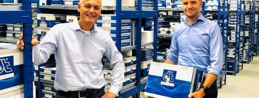 ETC en DT Spare Parts werken samen