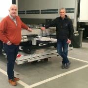 Bär tailgate Preferred Partner European TrailerCare with Leon Ebbenhorst and Erik Spalink