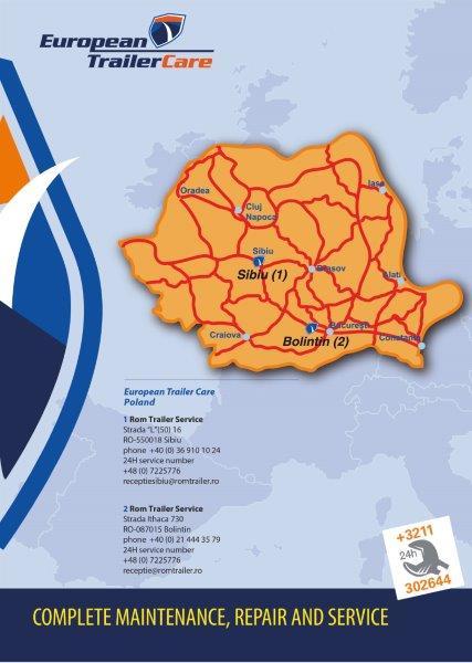 ETC kaart Roemenie